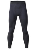 GSOU SNOW Winter Grey Men Ski Thermal Underwear Set Wicking Quick-drying