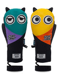 Cute Big Eyes Plush Men And Women Waterproof And Wear-Resistant Ski Gloves