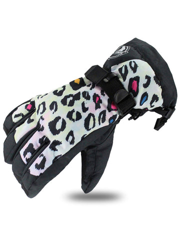 Gsou Snow Women's Waterproof Outdoors Ski Gloves