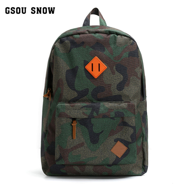 Gsou Snow 2018 Tough Military Style Backpack Is Perfect for Ski,Hiking, Biking, Running, Walking and More.