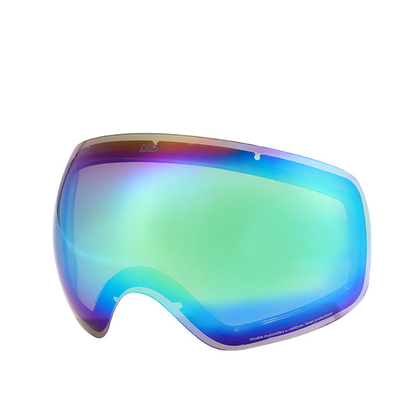 Gsou Snow Ski Goggles with UV Protection Anti-fog Spherical Replacement Lens