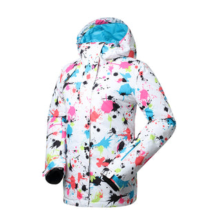 Gsou Snow High Waterproof Windproof Thermal Warm Colorful Women s Ski  Jackets Flank abd9be169