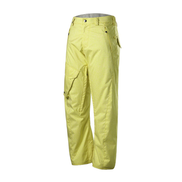 Gsou Snow Waterproof Windproof Yellow Men's Snowboard Ski Pants Slid