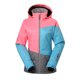 Gsou Snow Women's Colorful Windproof Waterproof Ski/Snowboard Jackets Front