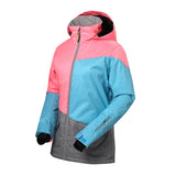 Gsou Snow Women's Colorful Windproof Waterproof Ski/Snowboard Jackets Flank