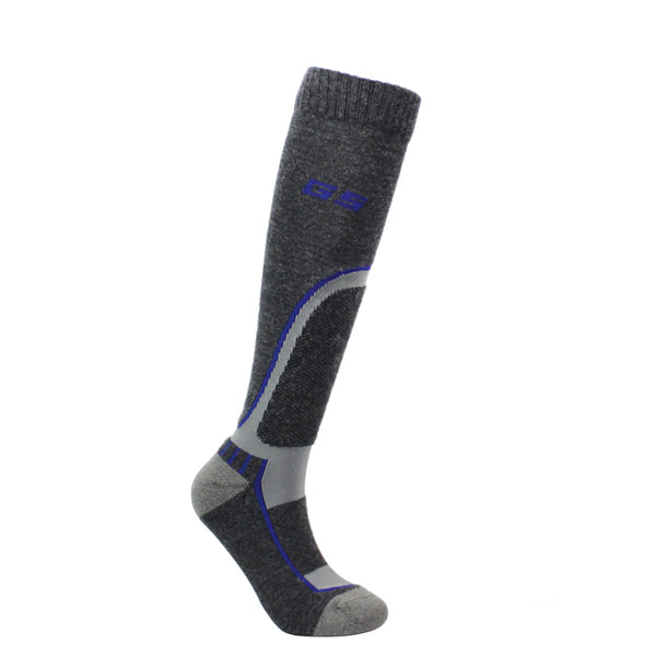 Gsou Snow Men's Ski Socks,Outdoor Performance Padded Protection Snowboard Socks