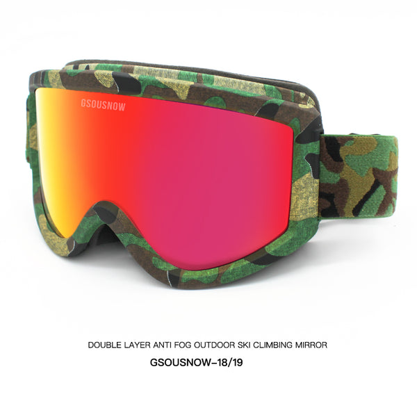 Gsou Snow UV Protection Outdoor Sports Ski Glasses Windproof Protective Glasses Ski Goggles