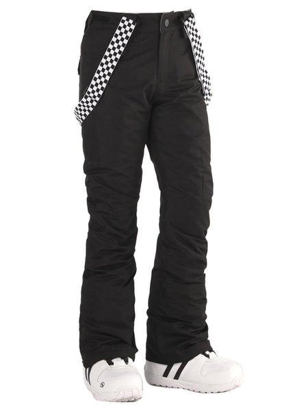 Highland Bib Snowboard & Ski Black Pants For Women