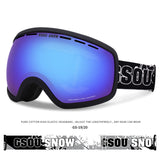 Gsou Snow Ski Snowboard Goggles UV Protection Anti-fog