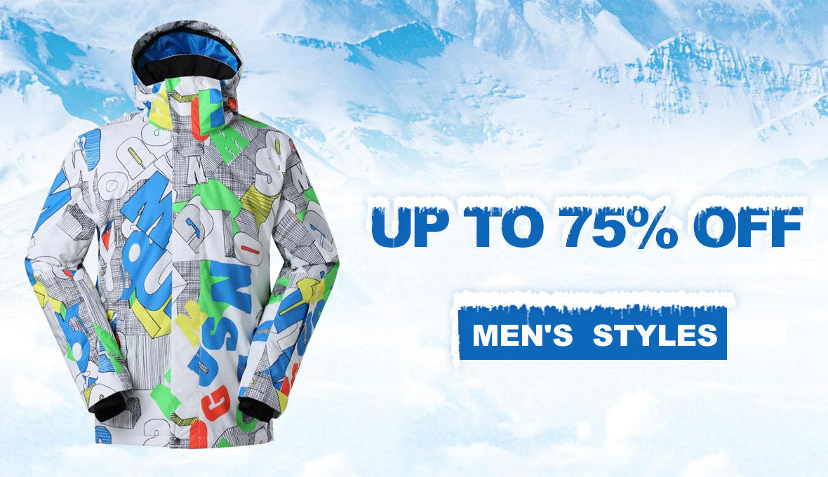 Men's Snowboard Ski Jackets Sale
