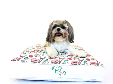 SHABBY CHIC DESIGNER DOG BED - JE T'AIME - Pet Pouch