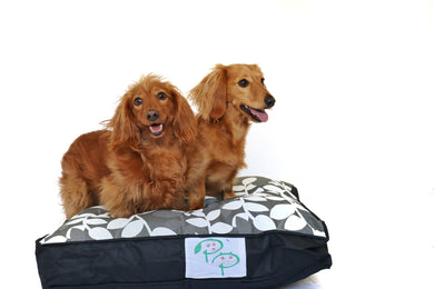 KAPUTUS DESIGNER DOG BED - BLACK & WHITE - Pet Pouch