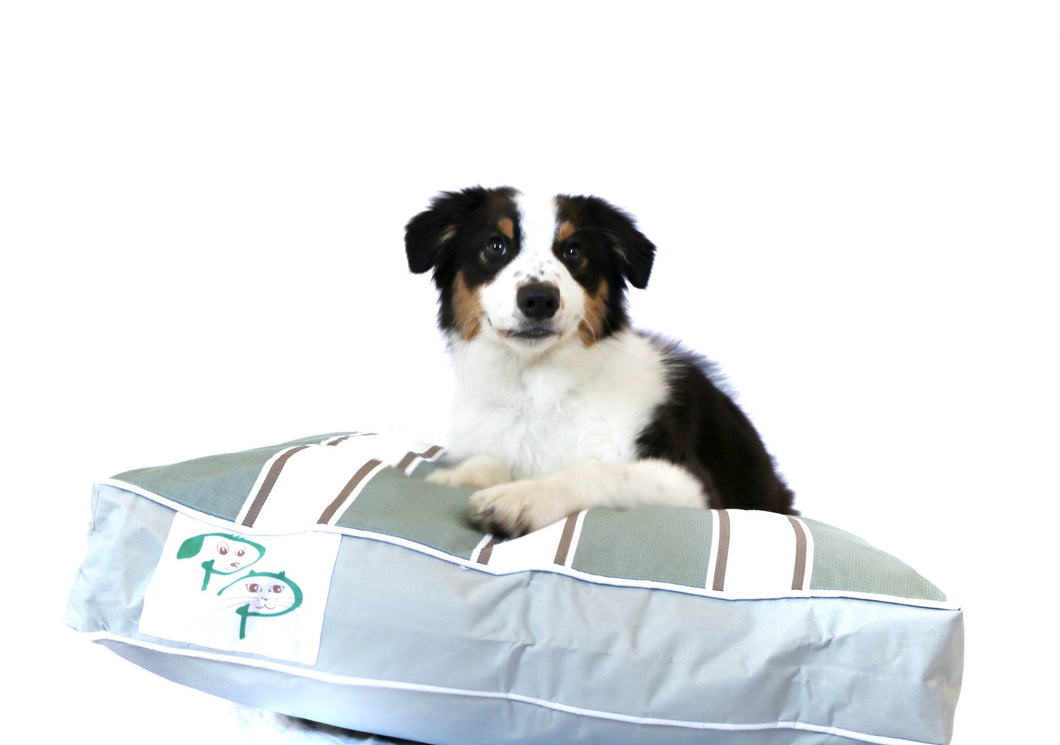 PORTSEA RANGE DESIGNER DOG BED - MORNINGTON MINT - Pet Pouch