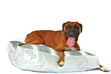 PENINSULA RANGE DESIGNER DOG BED - MORNINGTON MINT - Pet Pouch