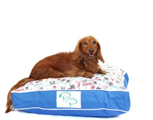 SHABBY CHIC DESIGNER DOG BED - POSTAL STAMP - Pet Pouch