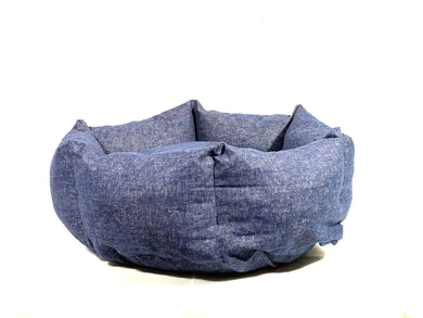 SNUGGLE HEXABED - BLUE DENIM - Pet Pouch