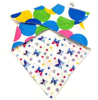 BLUE BUTTERFLY - DOG BANDANA