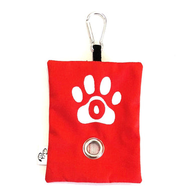 CANVAS POOP BAG HOLDER - Pet Pouch