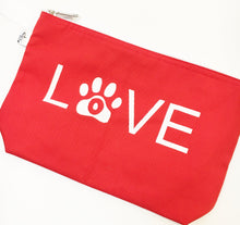 LOVE - CANVAS CLUTCH BAG - Pet Pouch