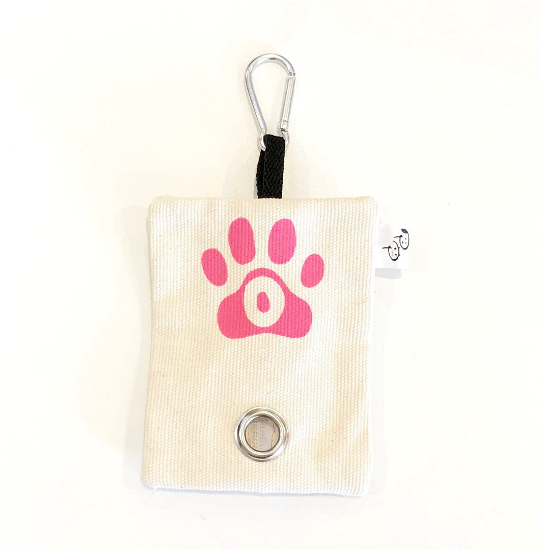 COTTON DRILL POOP BAG HOLDER - Pet Pouch