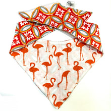 FERGAL THE FLAMINGO - DOG BANDANA - Pet Pouch