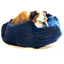 SNUGGLE HEXABED - NAVY CORDUROY - Pet Pouch