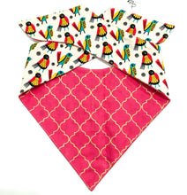 MOROCCAN CHICKS - DOG BANDANA - Pet Pouch