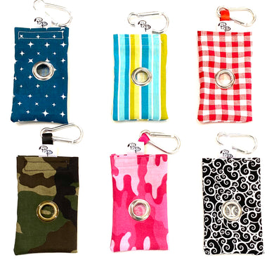 COtTON POOP BAG HOLDER - Pet Pouch