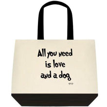 TWO TONE CANVAS TOTE BAGS - Pet Pouch