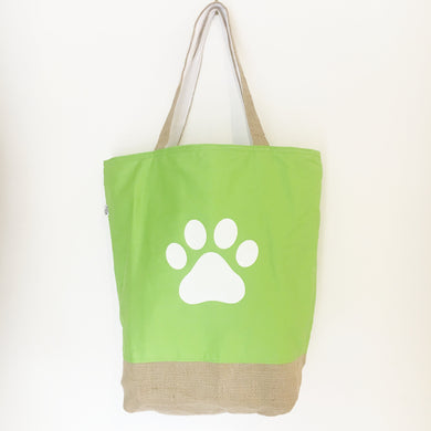 PAWPRINT - CANVAS TOTE BAG - Pet Pouch