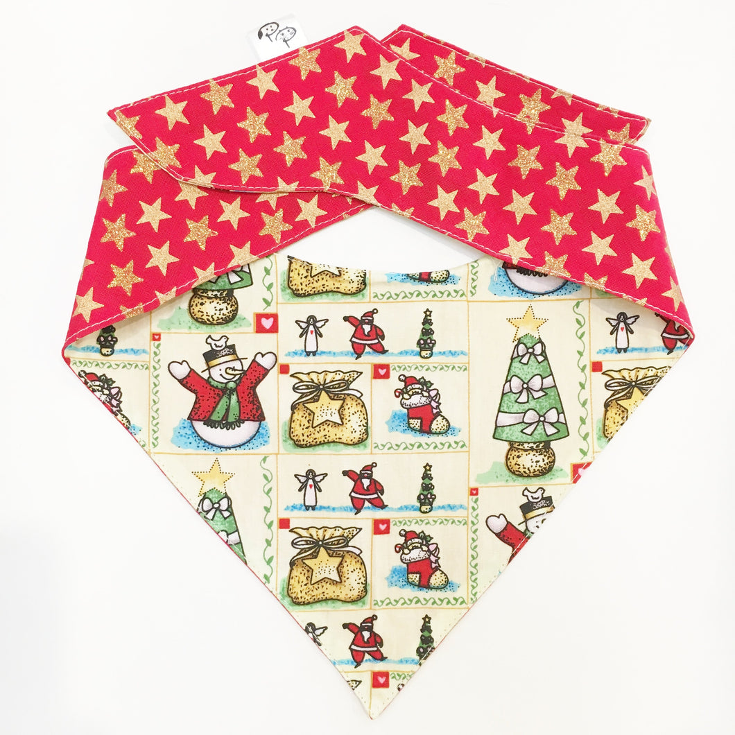 Vintage Christmas - Pet Pouch