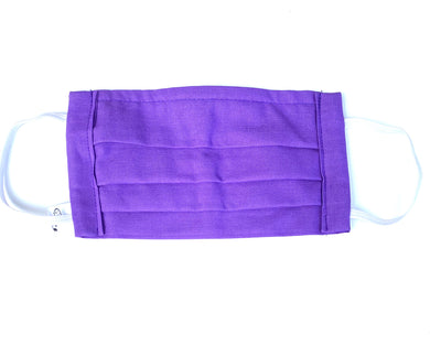 COTTON FACE MASK - PURPLE - Pet Pouch