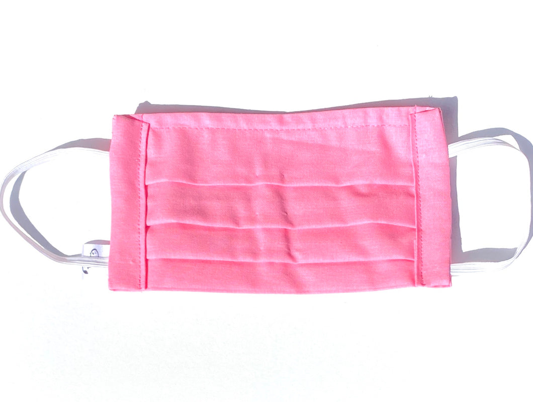COTTON FACE MASK - LOLLY PINK - Pet Pouch