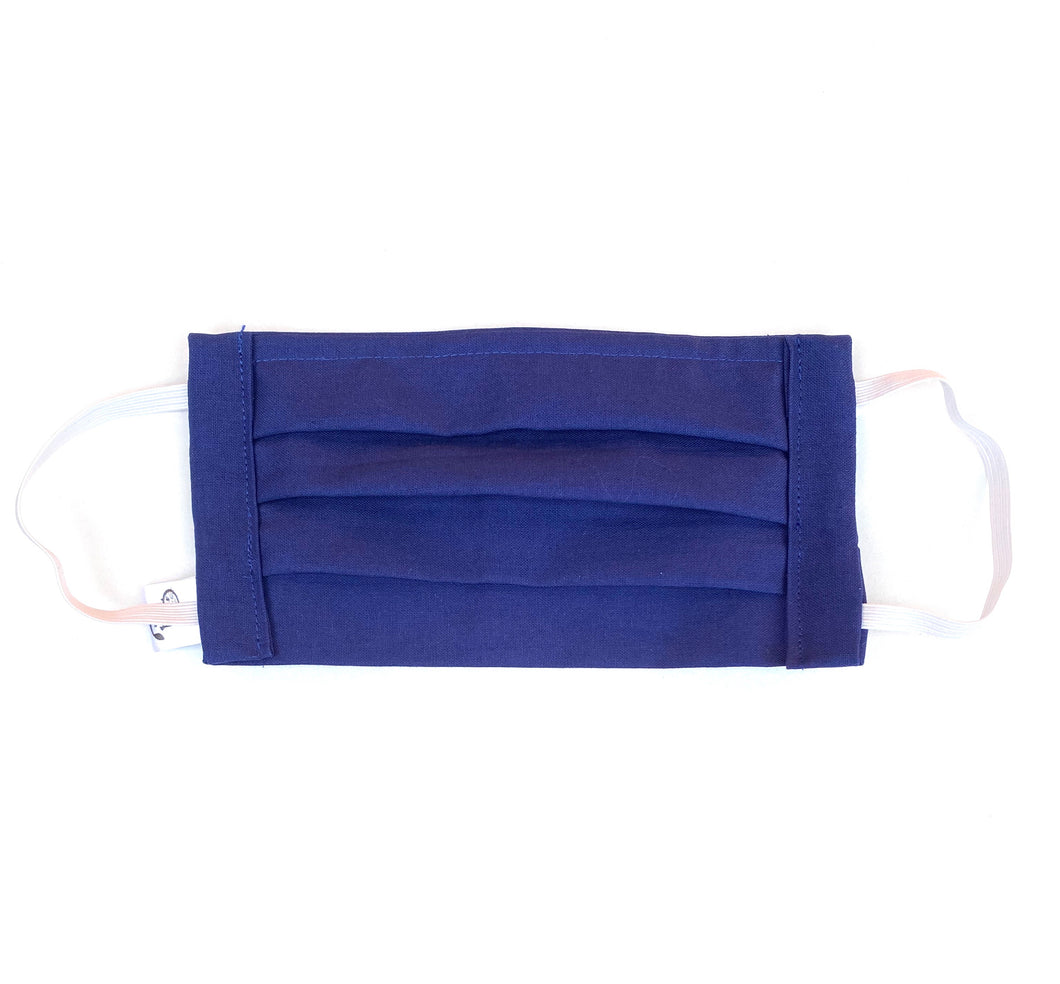 COTTON FACE MASK - NAVY BLUE - Pet Pouch