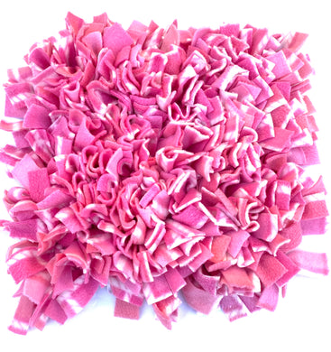 SNUFFLE MAT -  INTERACTIVE DOG TOY (PINK MARSHMELLOW)