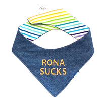 RONA SUCKS - DOG BANDANA
