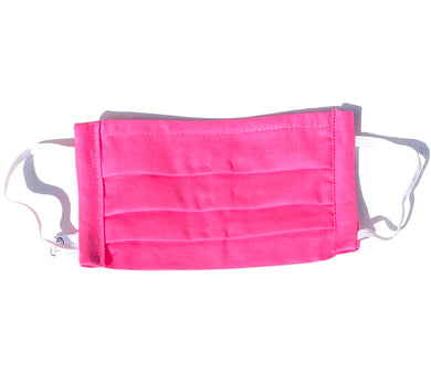 COTTON FACE MASK - HOT PINK - Pet Pouch