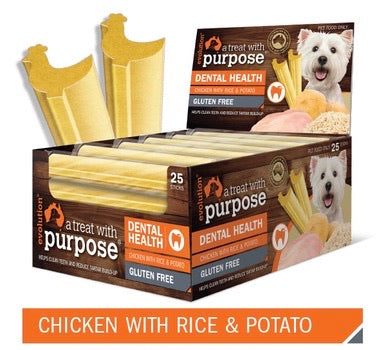 DENTAL STICK - CHICKEN WITH RICE & POTATO - Pet Pouch