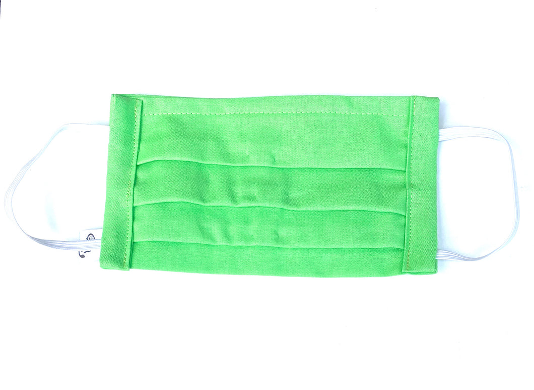 COTTON FACE MASK - GREEN - Pet Pouch