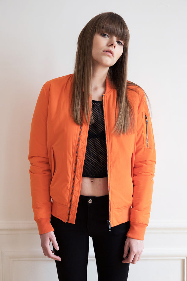 Bomber AVIATOR - Free America - Orange