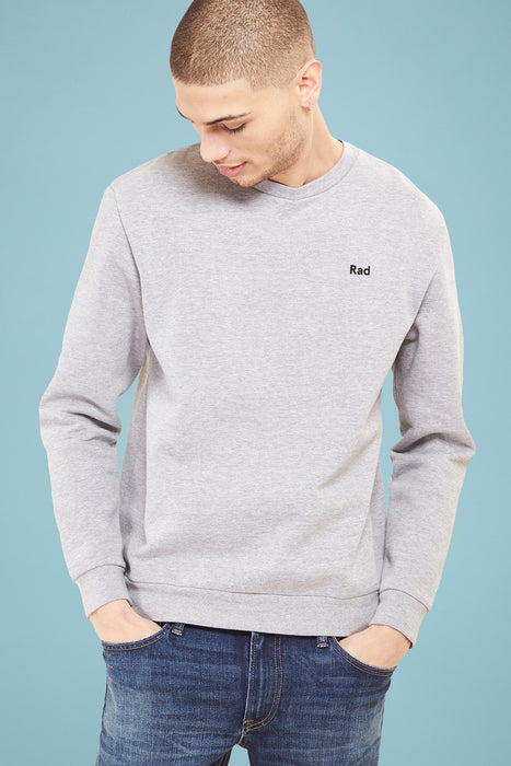 Rad Logo Series - Sweatshirt Grey