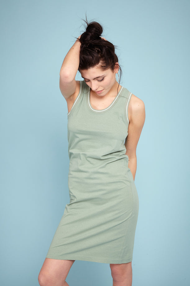 Tank Dress - Light Khaki