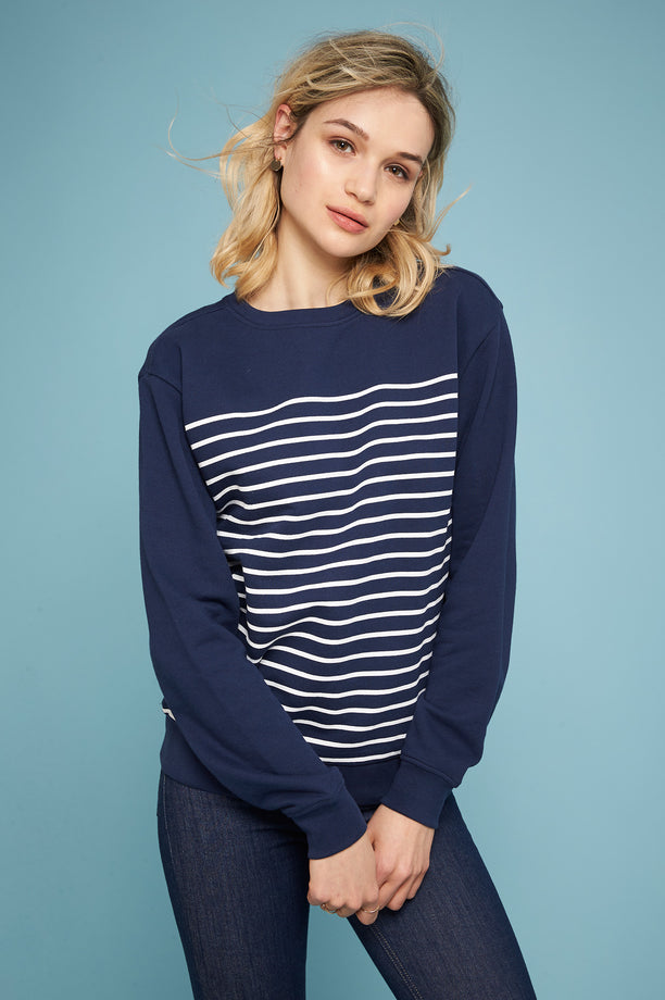 Sailor Sweatshirt - Navy
