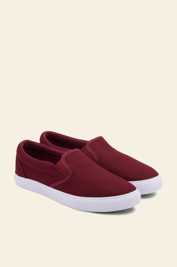 Classic slip-on - Burgundy
