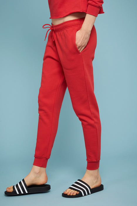 Women Jogger - Red