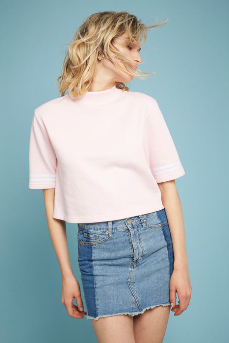 Sweatshirt Crop - Rosa