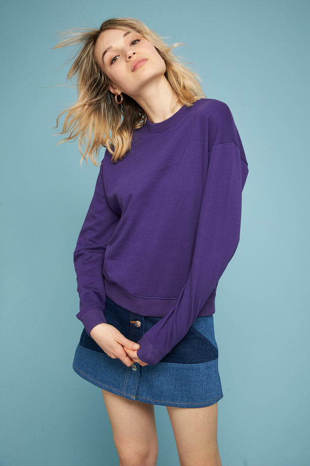 Light Sweatshirt - Violet