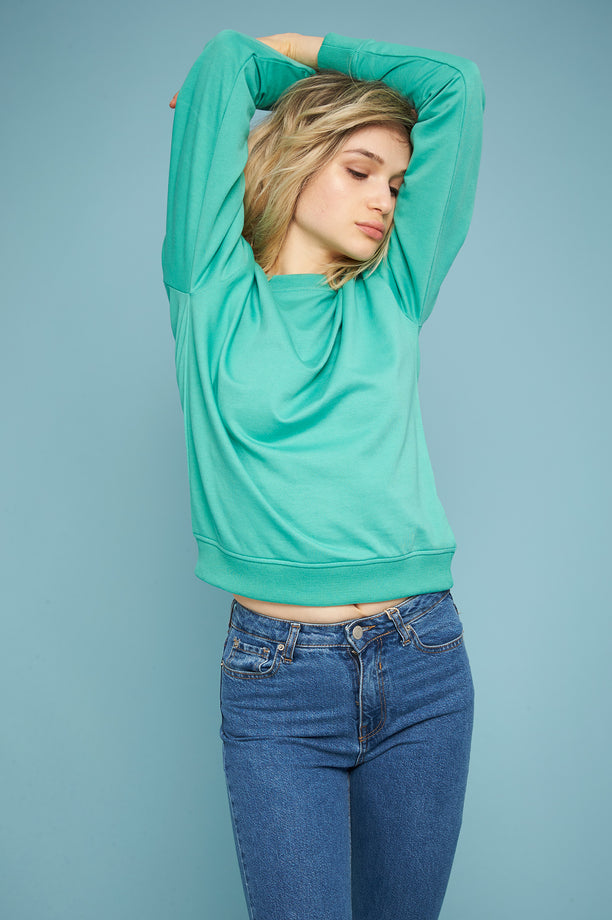 Light Sweatshirt - Mint