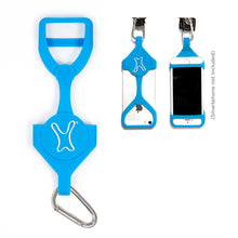A PhoneHug® | Blue Cyan | Phone harness - PhoneHug® PhoneHug® - phone leash PhoneHug® - phone cover PhoneHug® - phone case PhoneHug® - phone lanyard