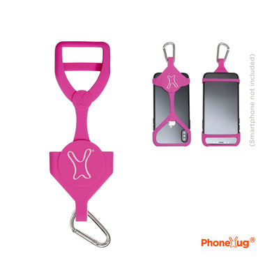 Neon Pink PhoneHug® - PhoneHug® PhoneHug® - phone leash PhoneHug® - phone cover PhoneHug® - phone case PhoneHug® - phone lanyard